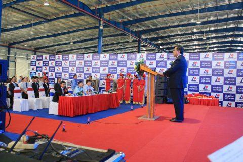 Tổ chức Lễ Khánh Thành Trung Tâm Logistics Logitem Đà Nẵng